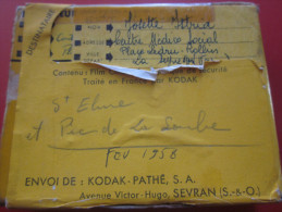 fev 1956 Saint Elme pic de la soule Var Bobine Film Amateur sc�ne localis�e Kodak 8 mm cin�matographie envoi postal EMA