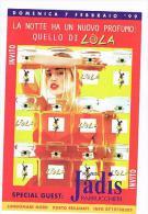 1999 DISCOTECA  LOLA,  PORTO RECANATI  (MC):  JADIS PARRUCCHIERI    - RIF. 3783 - Musica E Musicisti