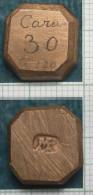 M_p> Peso Per Pietre Preziose In Bronzo - Gettoni E Medaglie