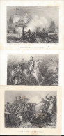 Thématique Napoléon, 25 Gravures De Karl Girardet, Charpentier, Morel Fatio Etc - Stampe & Incisioni