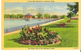 Tower Hill, Esplanade, Lawrence, Massachusetts The Queen City Of The Merrimac Valley - Lawrence