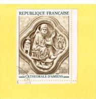 France -Timbre - Cathédrale D'Amiens - Frankrijk