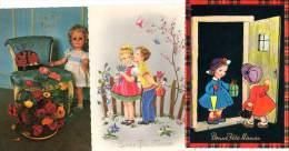 7 CPSm : Bonne Fête Maman - Tarjetas De Fantasía
