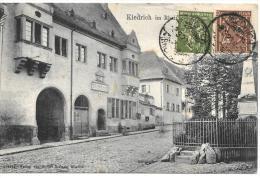 CPA.  ALLEMAGNE...KIEDRICH...  RATHHAUS.. GUTER ZUSTANG...1922.. - Rheingau