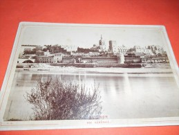 B616 Foto Cartonata Avignone F.dorizzi Cm10,5x16,5 Presenza Piccole Machioline Umido - Fotografia