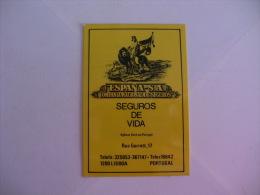 Insurance/ Assurances/ Seguros España - Portugal Portuguese Pocket Calendar 1985 - Calendriers