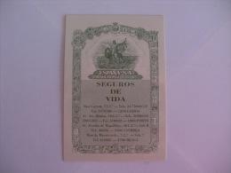 Insurance/ Assurances/ Seguros España - Portugal Portuguese Pocket Calendar 1993 - Calendari