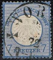 Allemagne - 1872 - Y&T N° 10, Oblitéré - Oblitérés