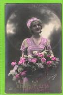 Vive Marie Irisa 2774  1913 Met Reliëf Letters - Fête Des Mères