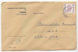 Commune De LOBBES - Enveloppe Affranchie 3,25 Frs  *COB 1753* - - Poststempels/ Marcofilie