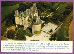 Le LOT - Terre Des Merveilles - Château De MONTAL Descriptif Historique Et Architectural Carte Non Circulé - Autres Communes