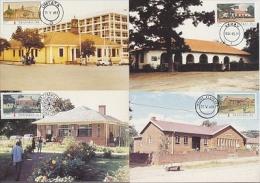 Transkei 1984 Post Offices 4v 4 Maxicards (19154) - Transkei
