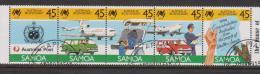 Samoa 1988 Australian Bicentennial Strip Of 5 VFU - Samoa