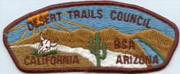 Boy Scouts Of America Desert Trails Council, California-Arizona - Scouting