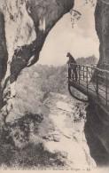 Cp , 74 , ANNECY , Environs , Les Gorges Du Fier , Intérieur Des Gorges - Annecy