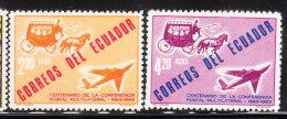 Ecuador 1963 1st Int'l Postal Conference MNH - Ecuador