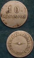M_p> Costa Rica Gettone Trasporti 10 Centavos CR - Costa Rica