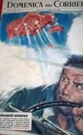 DOMENICA DEL CORRIERE N.35 1/9/63 USA ED ETNA:UFO/LA SPEZIA BENZINAIO PRENDE FUOCO/LONGANO/MONLAUR/BERGER/HARDY - Libri, Riviste, Fumetti