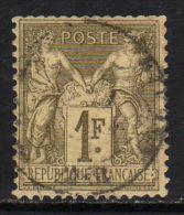 FRANCE : N° 82 Oblitéré (Type Sage) Dents Courtes - PRIX FIXE - - 1876-1898 Sage (Type II)