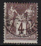 FRANCE : N° 88 B Oblitéré - (Type Sage) - PRIX FIXE : 1/3 De La Cote - - 1876-1898 Sage (Type II)