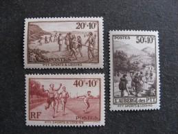 D). Série N° 345 Au N° 347, Neufs XX. 1° Choix. Cote = 10,05 Euros. - Francia