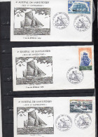 SAINT JUNIEN 1978 - 4� festival MER ET NAVIGATION - 7  enveloppe format FDC