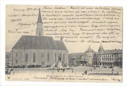 11307 -  Kolozsvar Matyas Kiraly Tér Szt Mihaly Templom - Roumanie