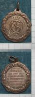 M_p> CURIOSITA´ Medaglia 25° Anno Fondazione Società SAROGLIA - Torino 1912 - 1937 - Non Magnetica - Professionali/Di Società
