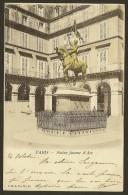 PARIS Colorisée Statue De Jeanne D'Arc (CN) (75) - Statues