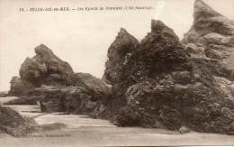 CPA- BELLE-ILE-en-MER (56) - Les Fjords De Donnant - Belle Ile En Mer