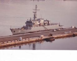 Batiment Navire Militaire ALMIRANTE PADILLA 51 Frégate COLOMBIE Signee Martinelli 1983 Couleur - Boats