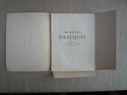 Monnaies Grecques J.L Vaudoyer EO 1952 N°456 Marc Robert Héliogravures Lescuyer.Voir Photos. - Livres & Logiciels