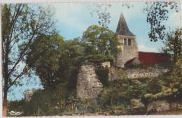 Allier,ainay-le -chateau,l´église Et Les Remparts,amour Du Passé,vieilles  Pierres