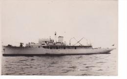 Batiment Navire Militaire Patrouilleur Equateur Esmeralda Coll J Havet Tampon - Boats