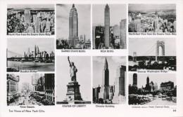 CPSM ETATS-UNIS - USA - New York - Multi-vues - Multi-vues, Vues Panoramiques