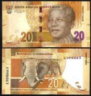* SOUTH AFRICA 20 RAND 2012 UNC P New - Südafrika