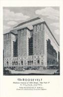 CPSM ETATS-UNIS - USA - New York - The Roosevelt Grill - A Hilton Hôtel - Cafés, Hôtels & Restaurants