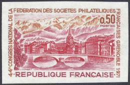 FRANCE 1971 NON DENTELLE Nº 1681a IMPERF - France