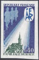 FRANCE 1971 NON DENTELLE Nº 1682a IMPERF - France