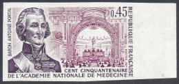 FRANCE 1971 NON DENTELLE Nº 1699a IMPERF - France