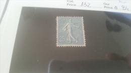 LOT 240488 TIMBRE DE FRANCE NEUF* N�132 VALEUR 84 EUROS