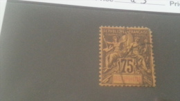 LOT 240529 TIMBRE DE COLONIE REUNION OBLITERE N�43 VALEUR 50 EUROS