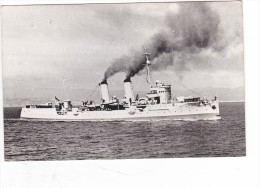 Batiment Militaire Marine Chili Destroyer Chacabuco  Signée Accorsi - Boats