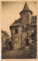 11429. Postal SALERS En Mauriac (Cantal).Maison Bertrandy, Porte De La Martille - Mauriac