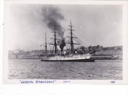Batiment Militaire Marine Chili Navire Ecole General Baquedano En 1936 A Sydney - Boats