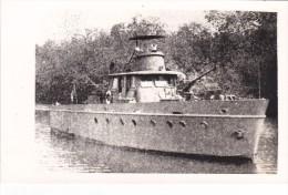 Batiment Militaire Marine Perou Canonniere Rio Zarumilla Tampon Coll Pavia - Boats