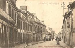 CPA - 61 - L´AIGLE - RUE SAINT BARTHELEMY - PASQUIS N° 897 - L'Aigle
