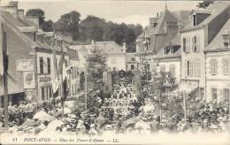 CARTE POSTALE ANCIENNE  PONT AVEN  (29)   FETE - Pont Aven