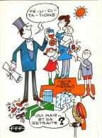 Carte Pétition: FETES DES MERES, Mai 1981, Une Juste Retraite - Fête Des Mères
