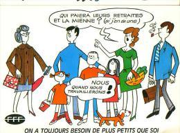 Carte Pétition: FETES DES MERES, Mai 1981, L´économie Nationale - Fête Des Mères